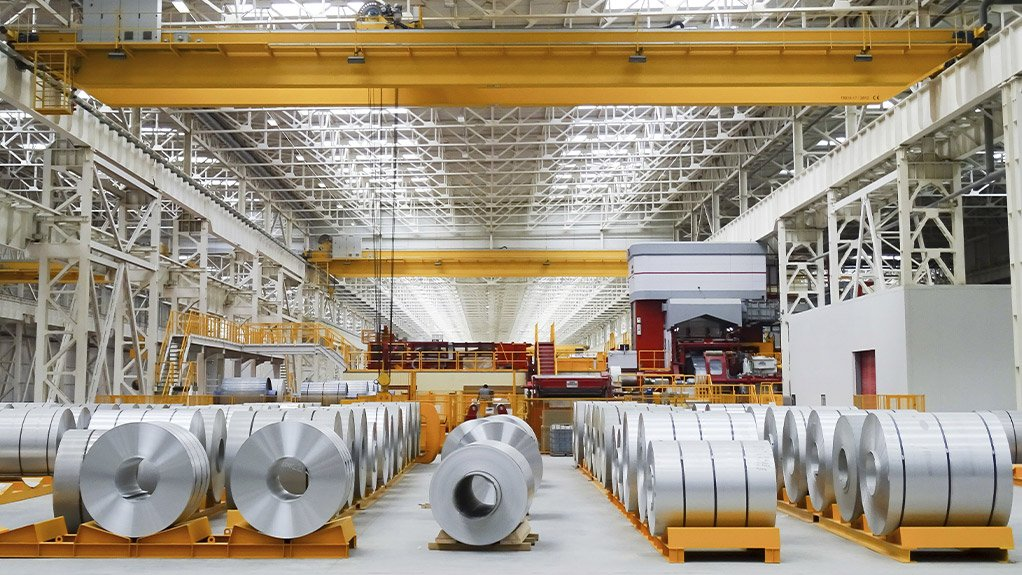 KEEP ROLLING ROLLING ROLLING A cold rolling production line supplied to an international client by SMS group