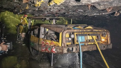 Rustenburg mining operations, South Africa