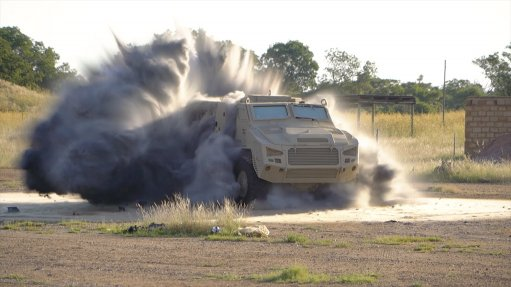 Paramount's Mbombe 4 x 4 achieves high-level certification