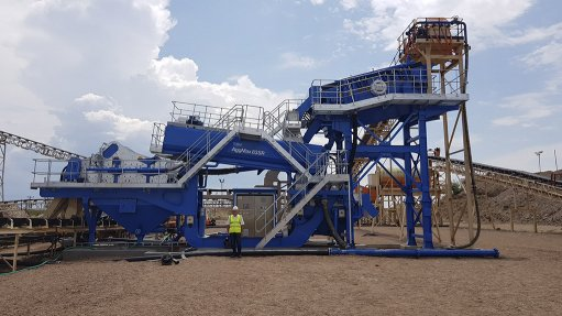 Tailings presents opportunity  for wet processing experts
