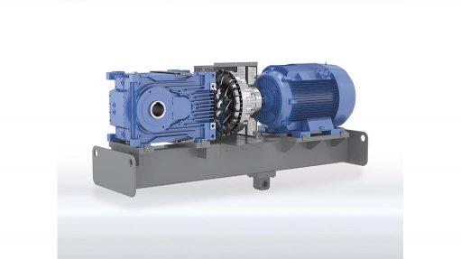 Drive system ideal for bulk handling