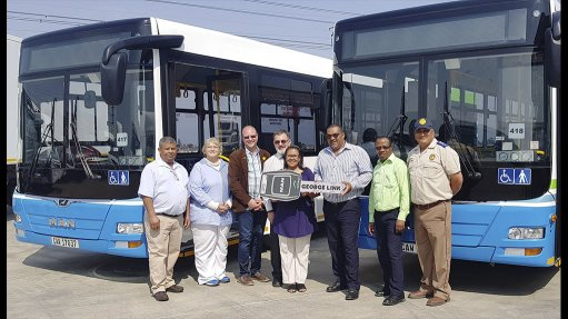 Go George vehicle operating company buys its own buses