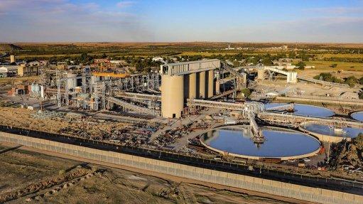 Beatrix mine, South Africa