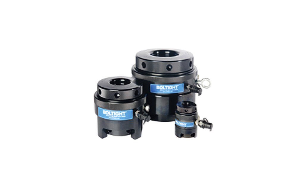 TIGHTLY PACKED  Boltight tensioners are ideal in instances where bolt load accuracy is critical
