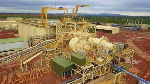 Wahgnion gold operations, Burkina Faso