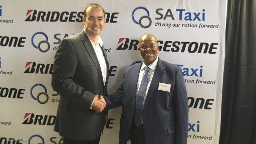 Taxis to have access to discounted tyres through Bridgestone, SA Taxi deal