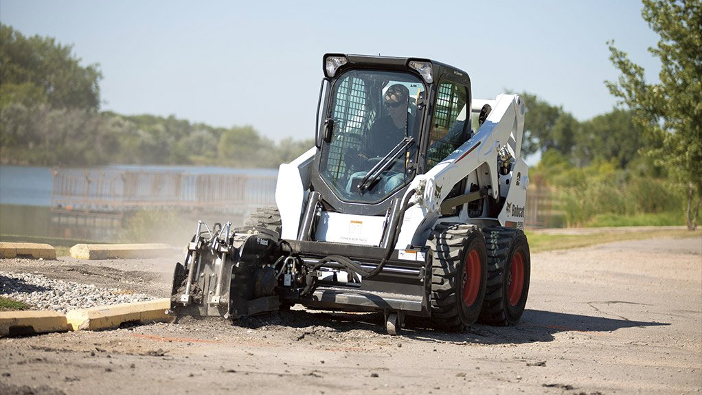 PATCHING UP ROADS  Bobcat aims to take advantage of significant road construction tenders in the next two to three years