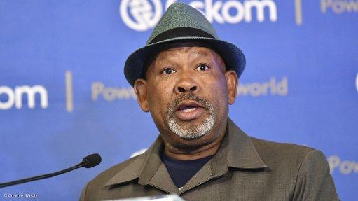 Eskom acting group CEO Jabu Mabuza