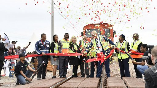 Transnet launches world's longest production train