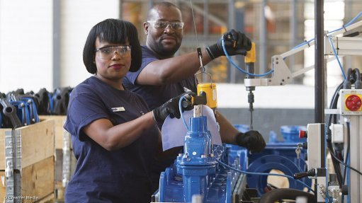 CHAMPIONING TRANSFORMATION A transformation study for the valve and actuator manufacturing industry will address the participation of previously disadvantaged groups, including women and youth in the industry