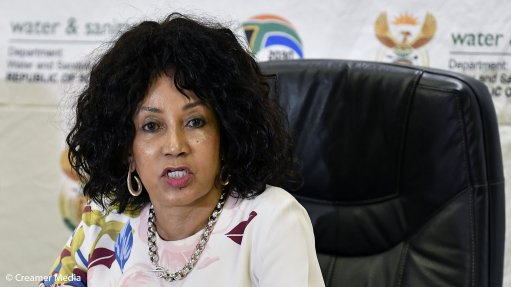 Water-shedding can be avoided, says Sisulu