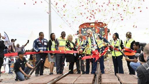 Transnet launches world's longest production train