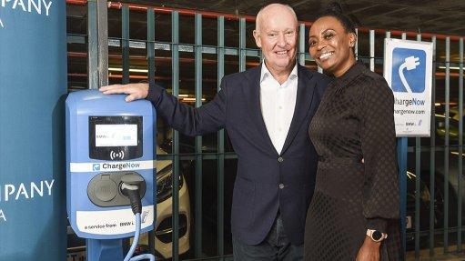 BMW, ACSA unveil EV charging stations at three airports