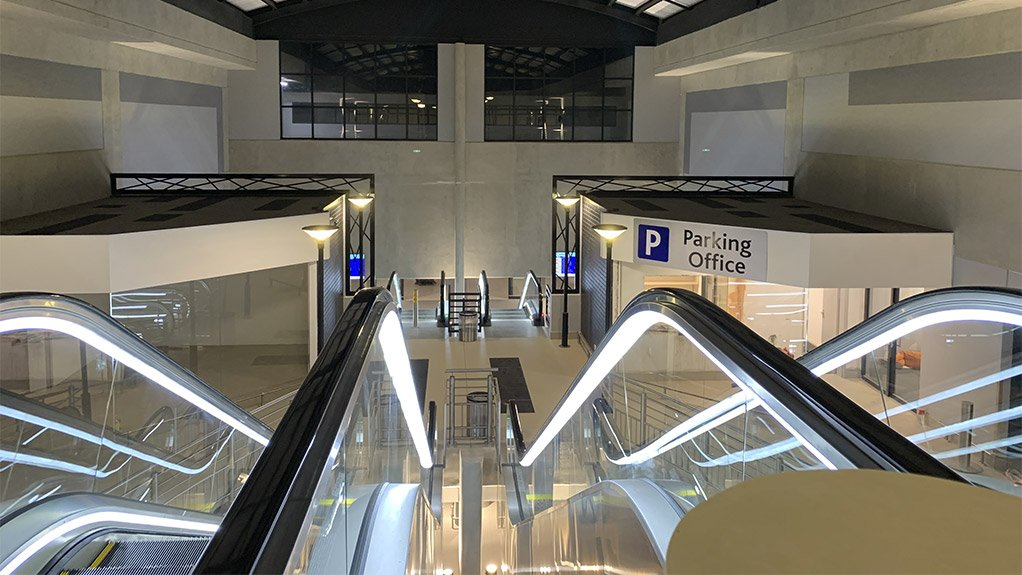 Lanseria International Airport's multi-storey structural car park is now open to the public.
