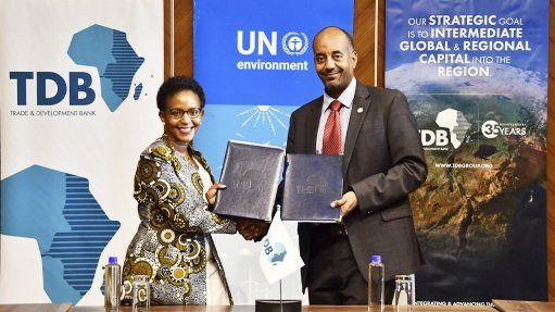 TDB, UNEP remain committed to climate change mitigation