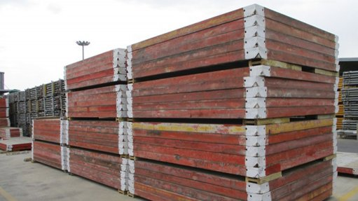 Auction of scaffolding and formwork items by GoIndustry DoveBid