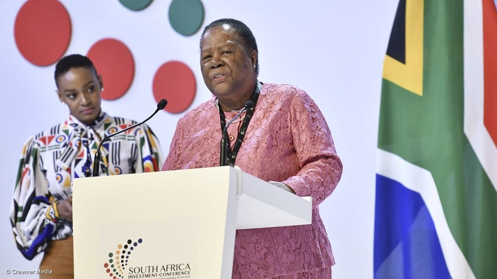 International Relations and Cooperation Minister Naledi Pandor