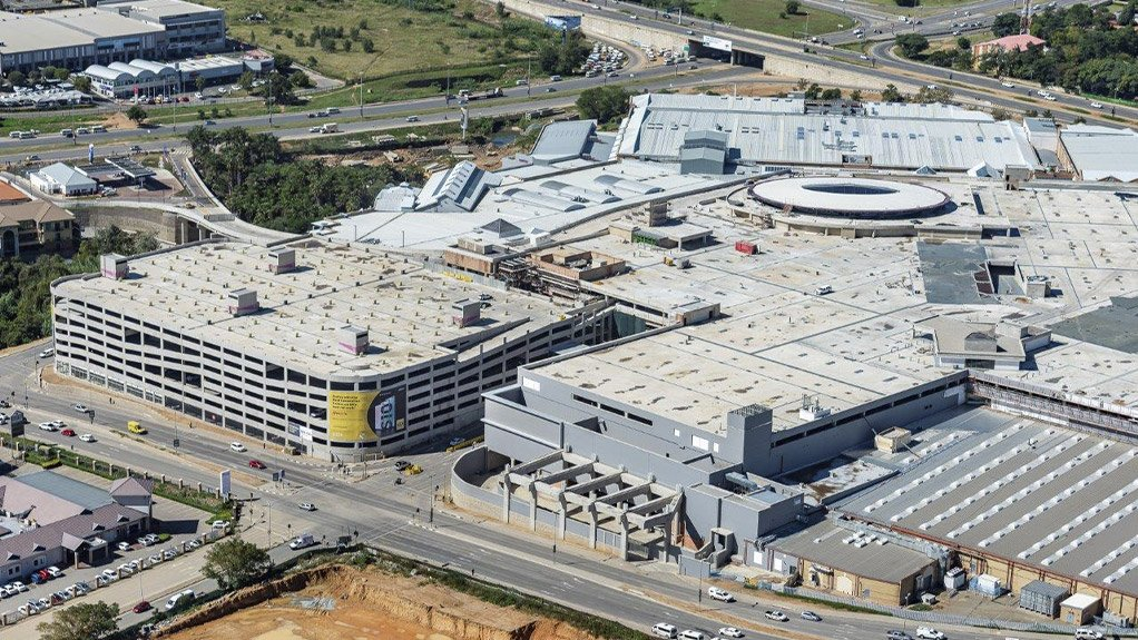 LARGEST AFRICAN MALL  Peikko South Africa played an integral role in the construction of Fourways Mall, which is now the largest mall in South Africa and probably Africa