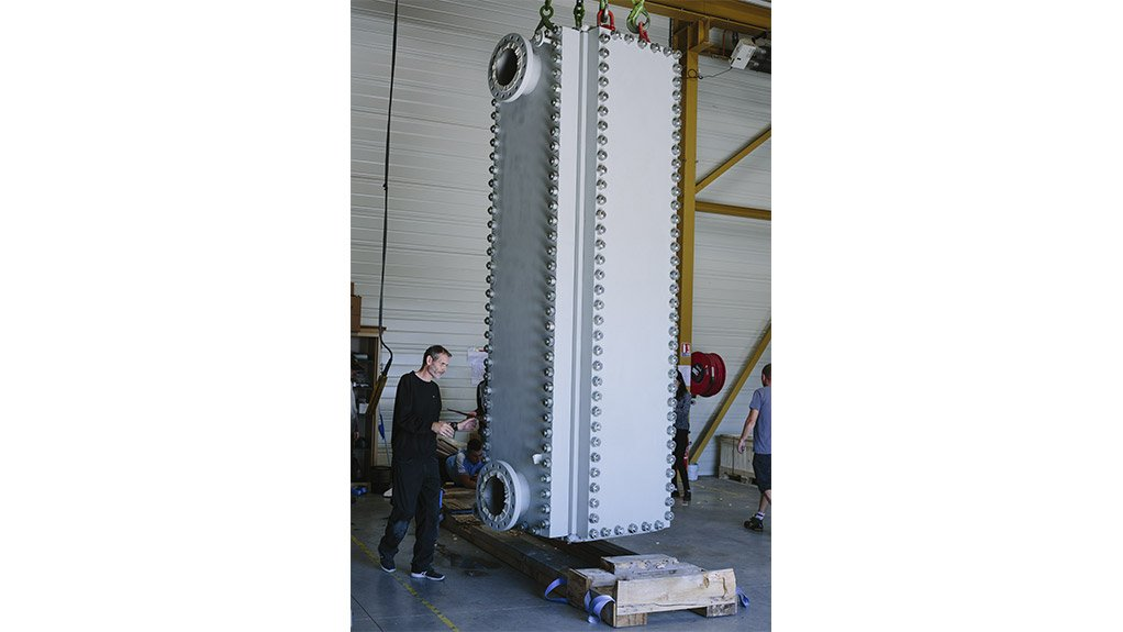 LOCK AND LOADED WeldPack model WP75/600 loading for delivery.