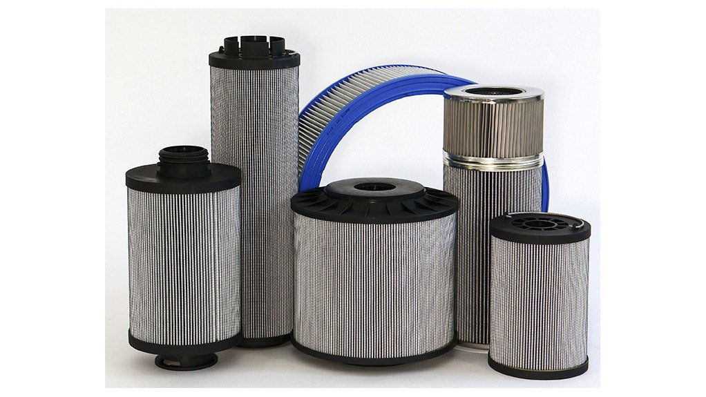 HANDLING THE PRESSURE  BMG's fluid technology range encompasses EcoPart filter elements for stationary and mobile hydraulic systems from the Filtration Group
