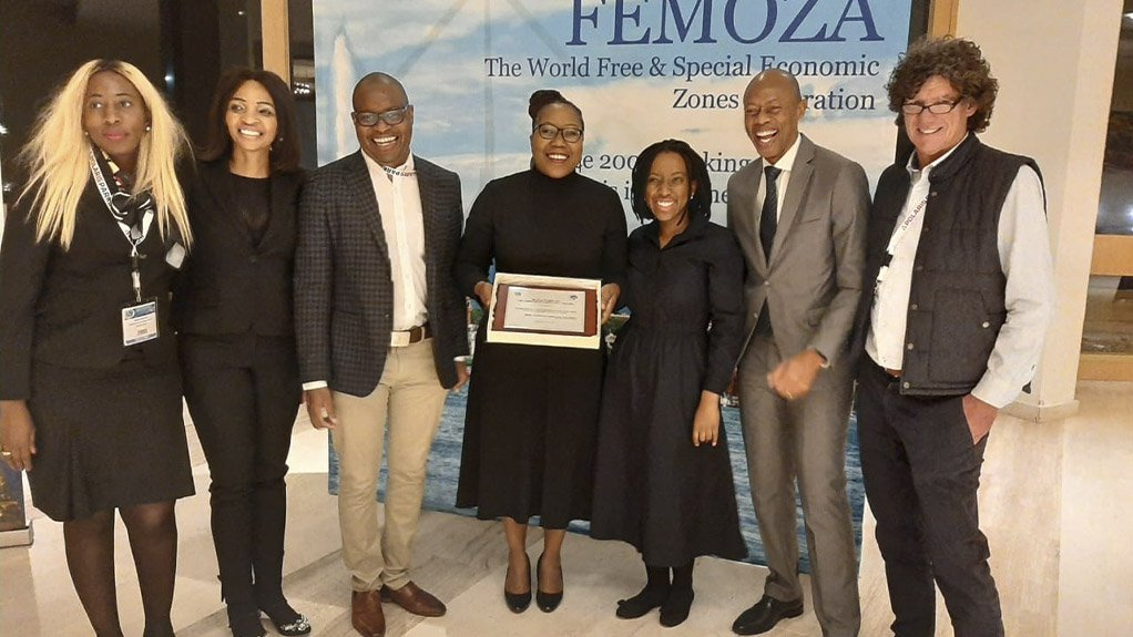 """Dube TradePort Special Economic Zone is the winner of the 2019 FEMOZA """"Best Practice in Free & Special Economic Zones"""" award"""