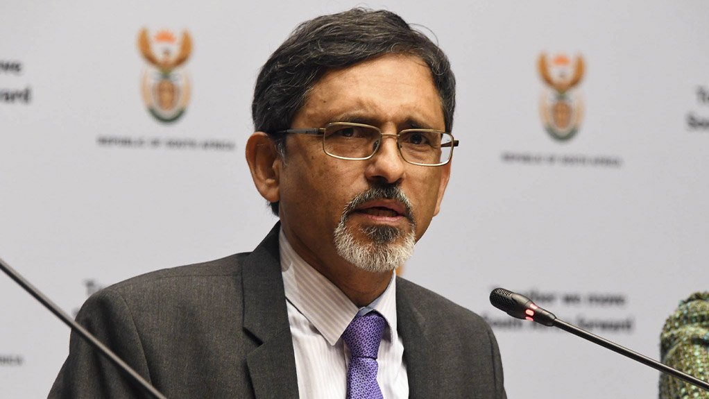 Trade and Industry Minister Ebrahim Patel