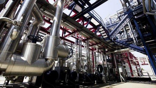 The Enel Fusina hydrogen plant near Venice, Italy.