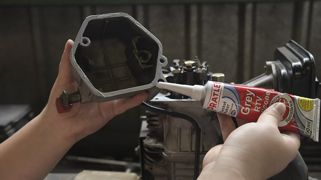 STICK IT Pratley's silicone gasket maker has been well received by the automotive sector