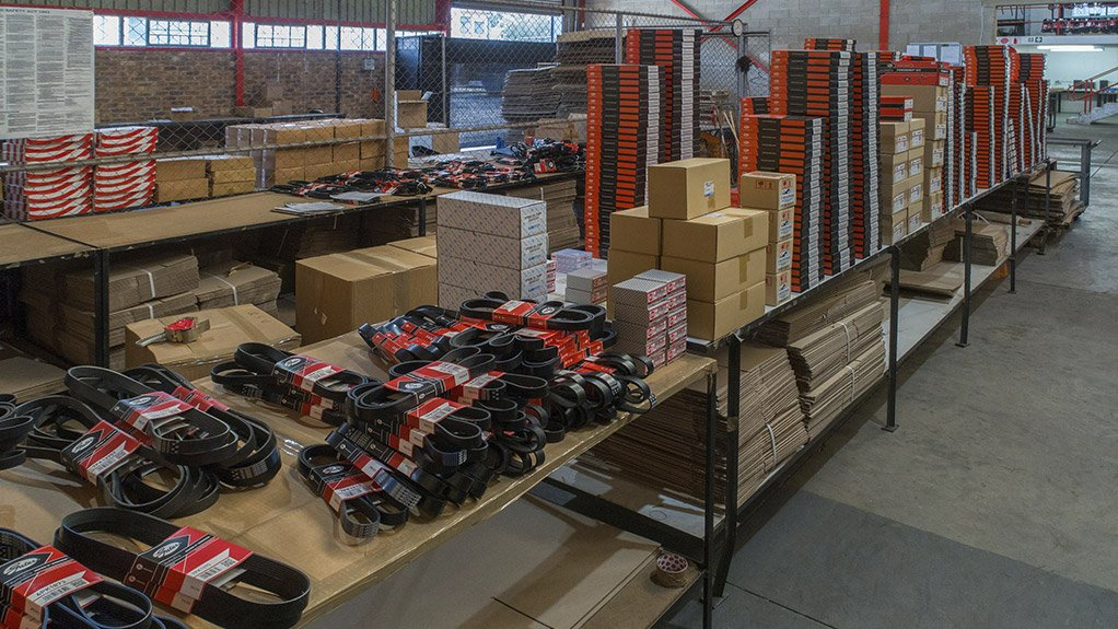 ABOVE THE BELT Autobax supplies quality-branded automotive parts from belts and chains to bearing kits and allied products