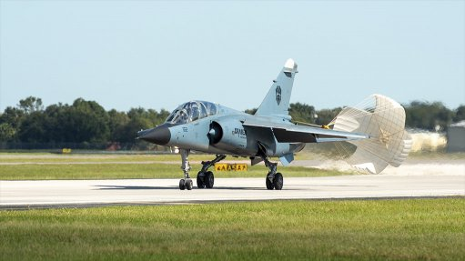 Paramount subsidiary powers US firm's first Mirage F1 flight