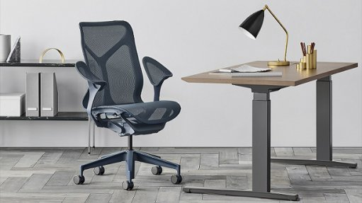 Office chair for changing workspaces
