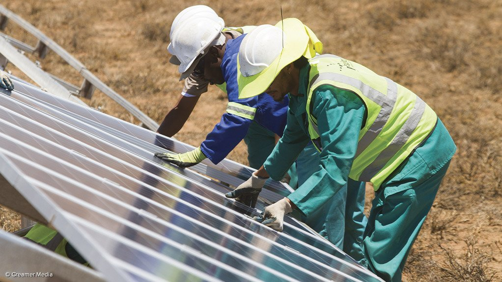 INSTALLING JOBS Many job opportunities have been created as a result of the Renewable Energy Independent Power Producer Procurement Programme