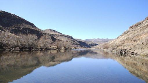DAM BIG PROJECT The site of the 2.3-billion-cubic-metre Polihali dam
