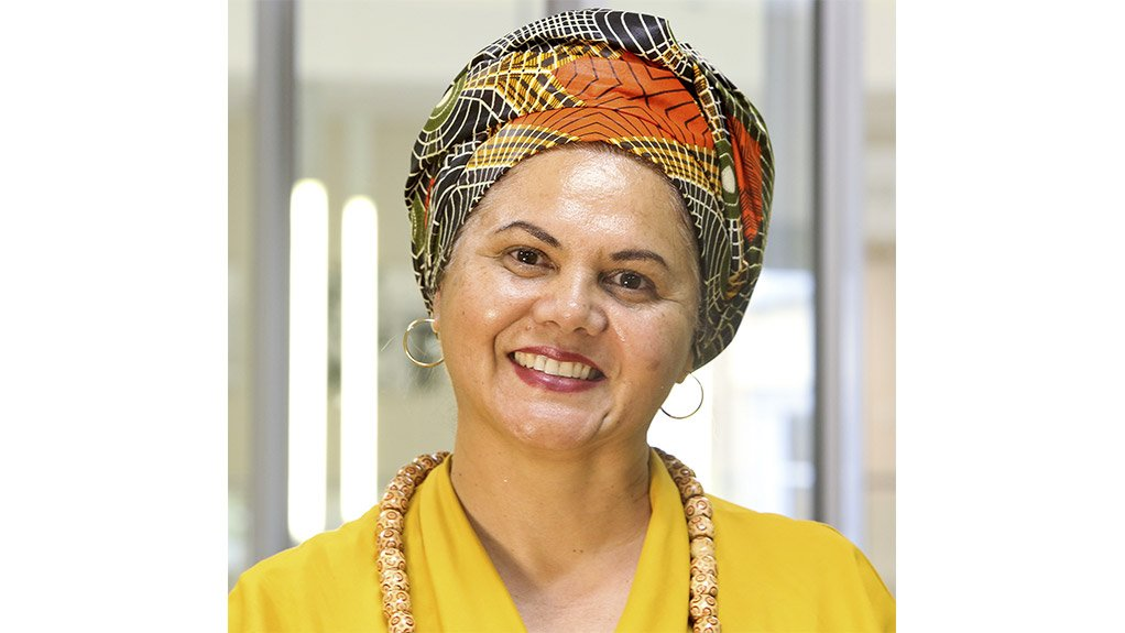 Jobs Fund head Najwah Allie-Edries