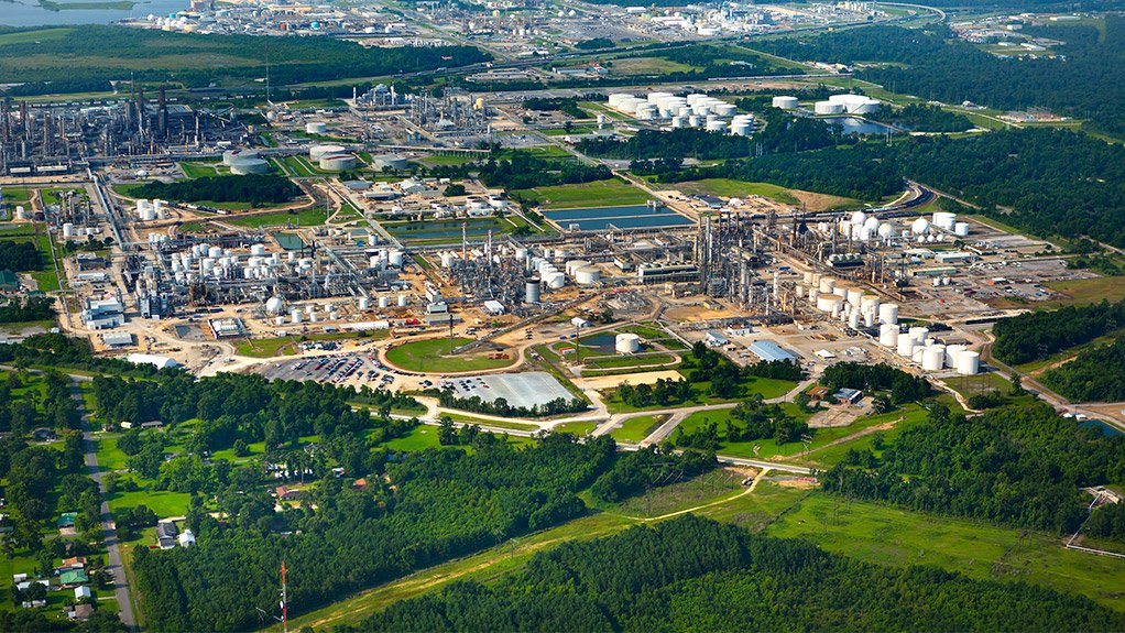 The Lake Charles chemicals project, in the US.