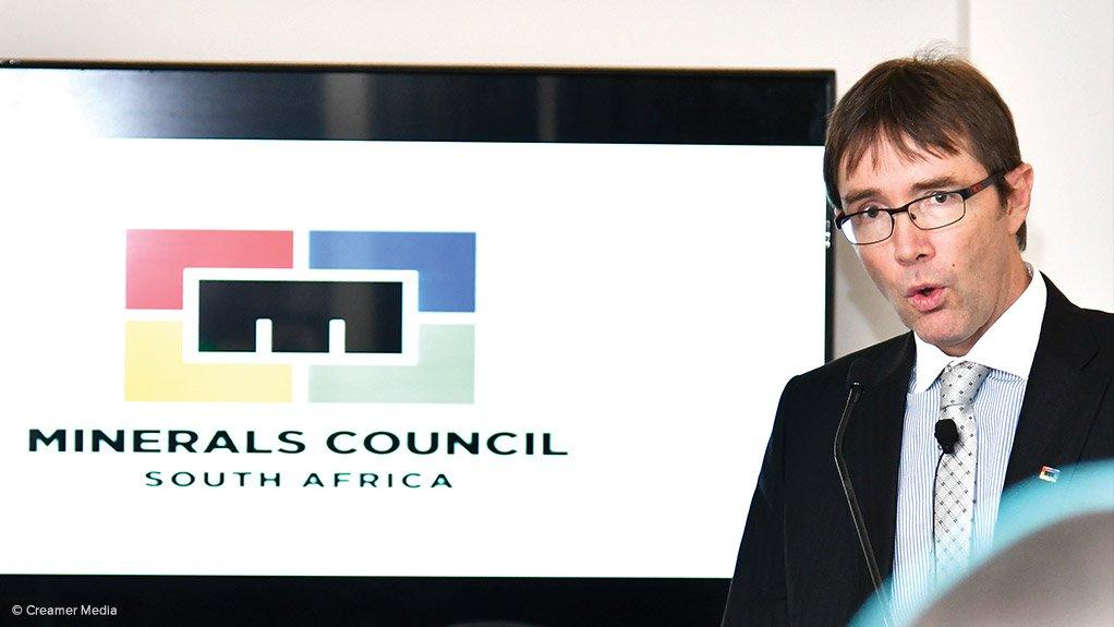 Minerals Council CEO Roger Baxter