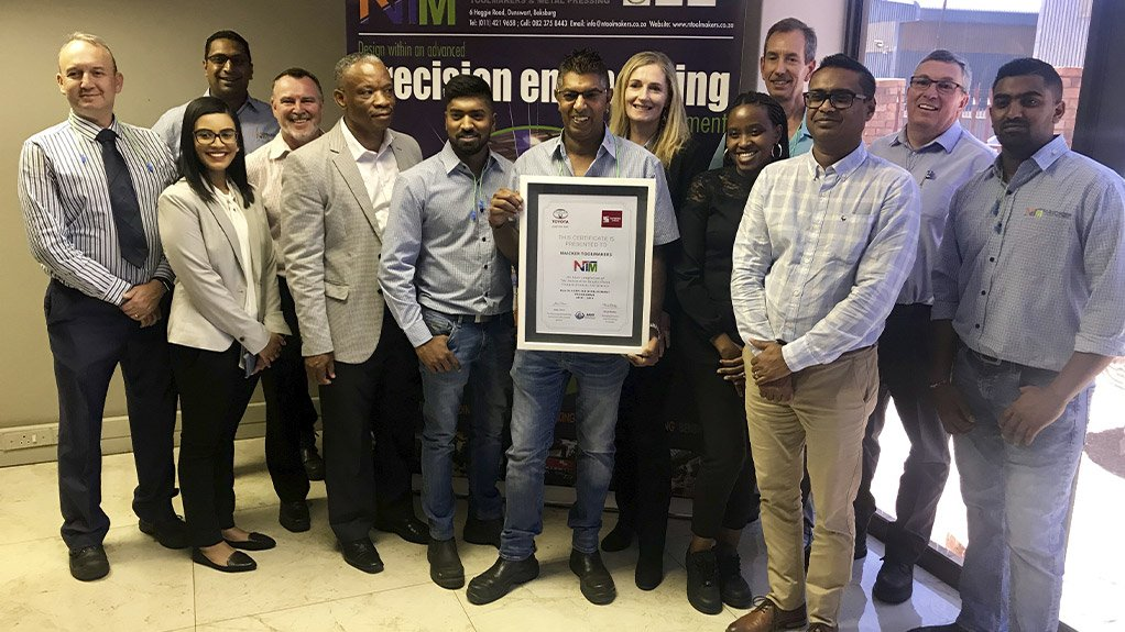 DRIVING GROWTH Kas Naicker stresses the importance of using relationships formed from the programme to secure further business, and further progress towards becoming a Tier 1 supplier