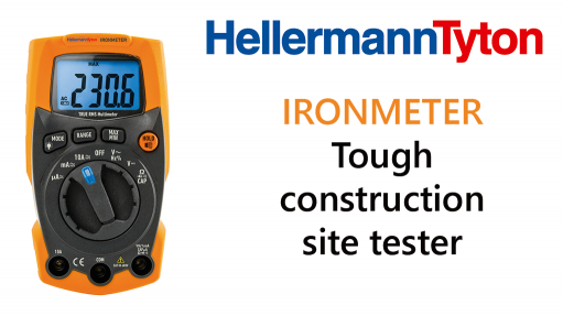 IRONMETER – Tough construction site tester