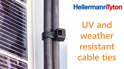 UV and weather resistant cable ties