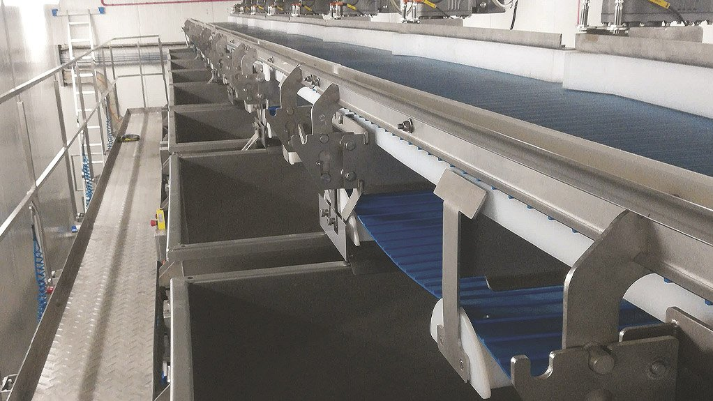 IDEAL SOLUTIONS  The Movigear solution was ideal for this application owing to its 200:1 speed range