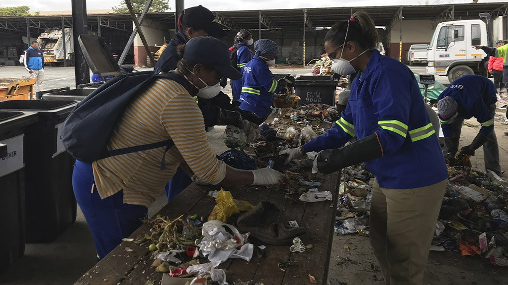 Massive waste sorting operation underway at The Breede Valley Local Municipality