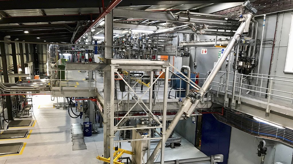 DELIVERING ON DEMAND The upgrade of the FUCHS manufacturing hub in Johannesburg would ensure adequate capacity to meet future market demand and quality standards