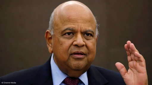 Steely Gordhan to his enemies: I am executing the president's project, leave me alone