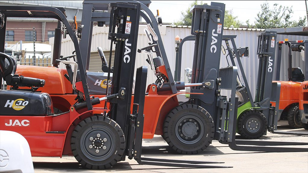 READY, STEADY, LIFT The new JAC forklifts are ready and waiting