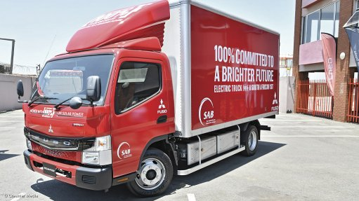 SAB hopes to use first electric truck by 2022