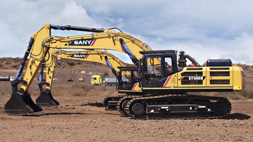 CAN YOU DIG IT A fifth SY500 excavator has been added to the mining contractor's fleet