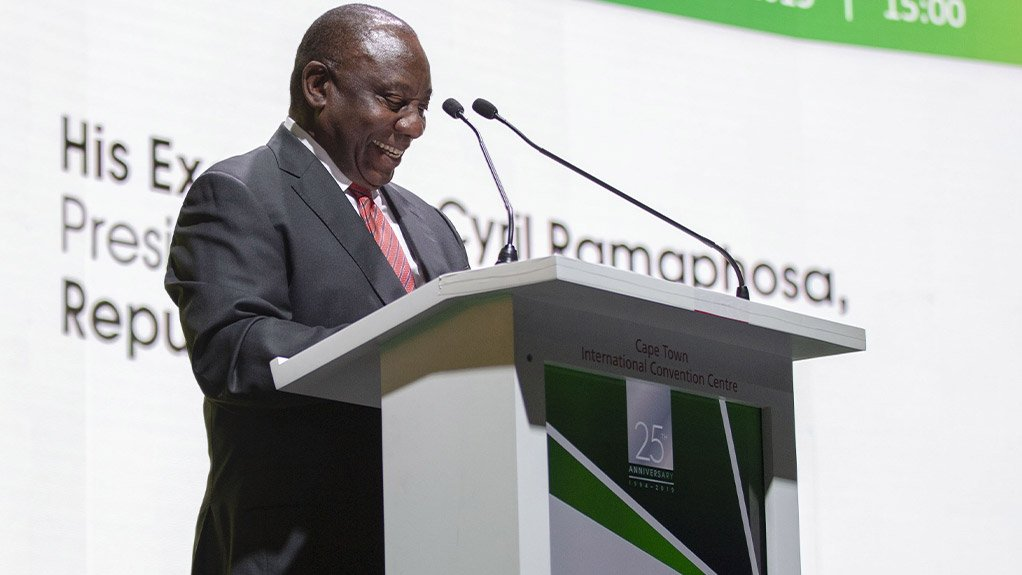 POTENTIAL PRESIDENTIAL PRESENCE An invitation to attend was extended to South Africa President Cyril Ramaphosa