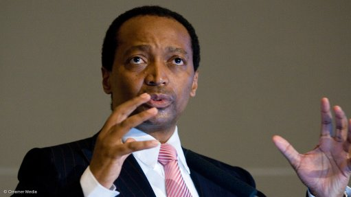 Motsepe joins WEF board of trustees