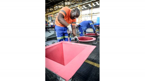 Resilient Linatex® And Linard® Rubber Linings Cut Downtime On African Mines