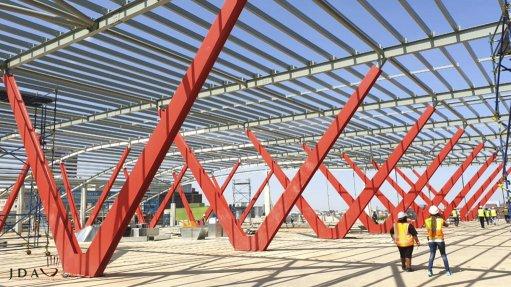 Joburg International Transport Interchange construction 85% complete